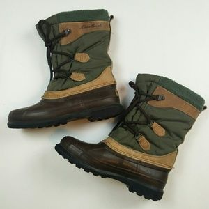 Eddie Bauer Sorel snow rain hiking Boots 7-7.5